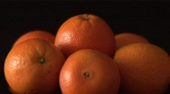 Stock Video Footage of Rotating Oranges