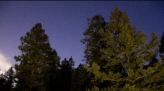 2009 Geminid Meteor Shower Timelapse - stock footage