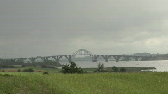 Queen Alexandrine's Bridge Stock Footage
