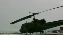 Helicopter from farther away Stock Footage