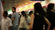 Stock Video Footage of Little India Shopping