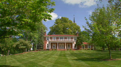 College President's House 2 Stock Footage