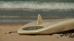 Lifeguard close up slow motion - stock footage