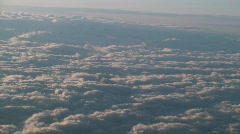 Pink Clouds on Paris Stock Footage