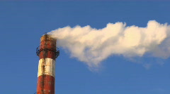 Industry Smoke - stock footage