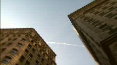 Boston Skyline Spin - stock footage