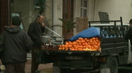 Stock Video Footage of fruit seller and art store