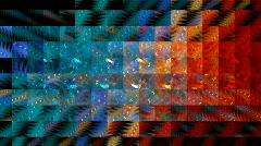 Geometric backdrop - stock footage
