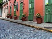 Stock Video Footage of Old San Juan Streets- Puerto Rico