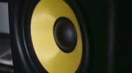 Speaker that vibrates in slow motion 2 Stock Footage