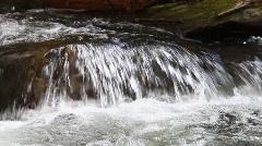 Waterfall in the Blue Ridge Mountains, Georgia Stock Footage