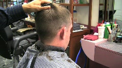 Bs chair raise buzzing blow dryer background noise silent 10s Stock Footage