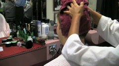 Bs towel dry silent 15s Stock Footage