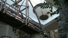 Usbg overhead train bridge 19s Stock Footage