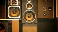 VJ LOOP Speakers HD v02 - stock footage