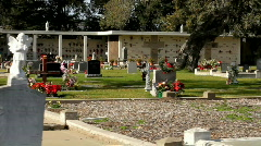 Stock Video Footage of Cemetery