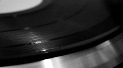 Stylus on Vinyl Stock Footage