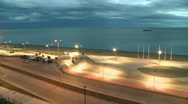 Seafront Stock Footage