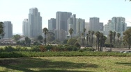 Stock Video Footage of San Diego Skyline