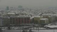 HD1080p Vienna City in winter. Snow. Stock Footage