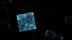 Ice cube. Stock Footage