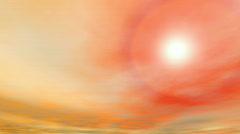 Pastel sky Stock Footage
