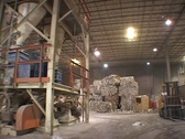 Stock Video Footage of Newspaper Recycling Plant 11