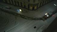 HD1080p Snow plow in Vienna City Austria Stock Footage