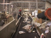 Stock Video Footage of Newspaper Recycling Plant 01