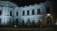HD1080p Vienna City Austria at night Stock Footage