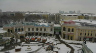 HD1080p Vienna City in winter. Snow. Stock Footage