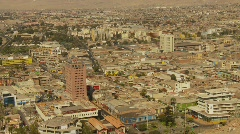 Arica, Chile, skyline city, one of the driest places in the world, #1 wide Stock Footage