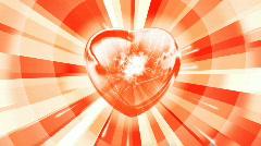 Shining Heart - stock footage