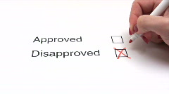 Not Approved Stock Footage