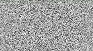 Stock Video Footage of Television static