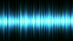 Blue waveform - stock footage