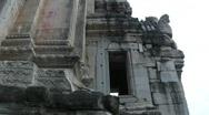 Prasat Muang Tam ruins in Thailand Stock Footage