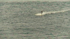jet skier in harbour - stock footage