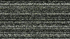 Television static - stock footage