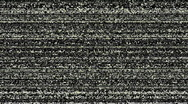Television static Stock Footage