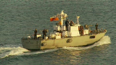 Military, Chilean navy patrol boat, #3 Stock Footage