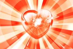 Shining Heart NTSC - stock footage