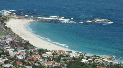 Cape Town Camps bay Stock Footage