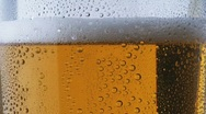 Beer being poured 2 Stock Footage
