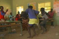 Senegal School 46 - stock footage