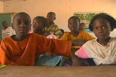 Senegal School 39 - stock footage
