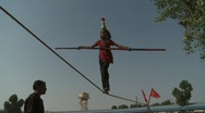 Indian rope trick Stock Footage