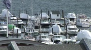 Stock Video Footage of Boats At Dock