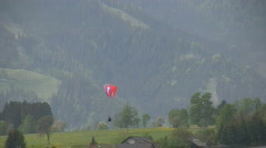 Paraglider Stock Footage