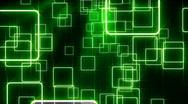 Glowing geometric background loop Stock Footage